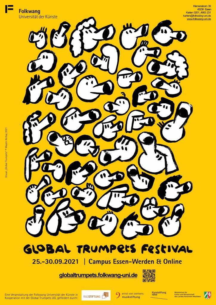 Global Trumpets Festival Poster