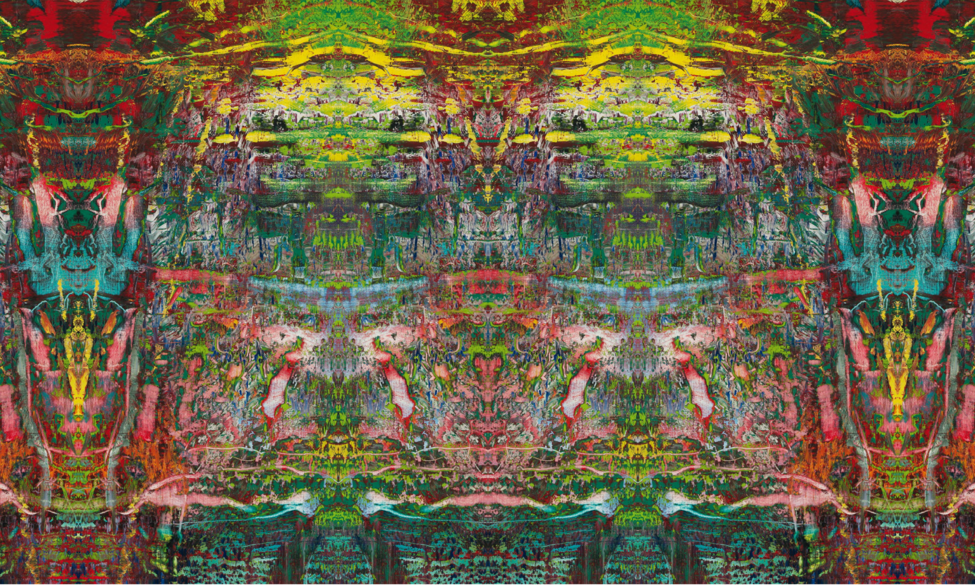 digitally generated image based on a painting by Gerhard Richter